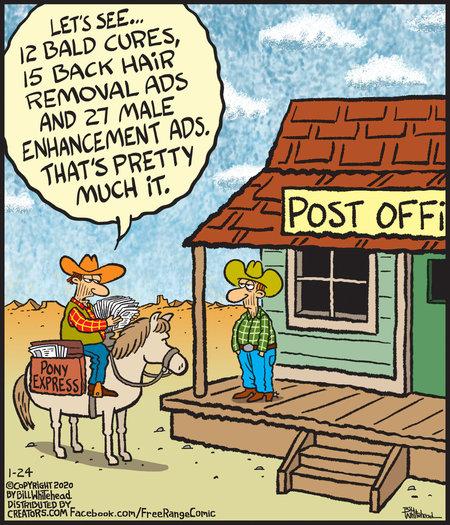 Free Range Comic Strip for January 24, 2020