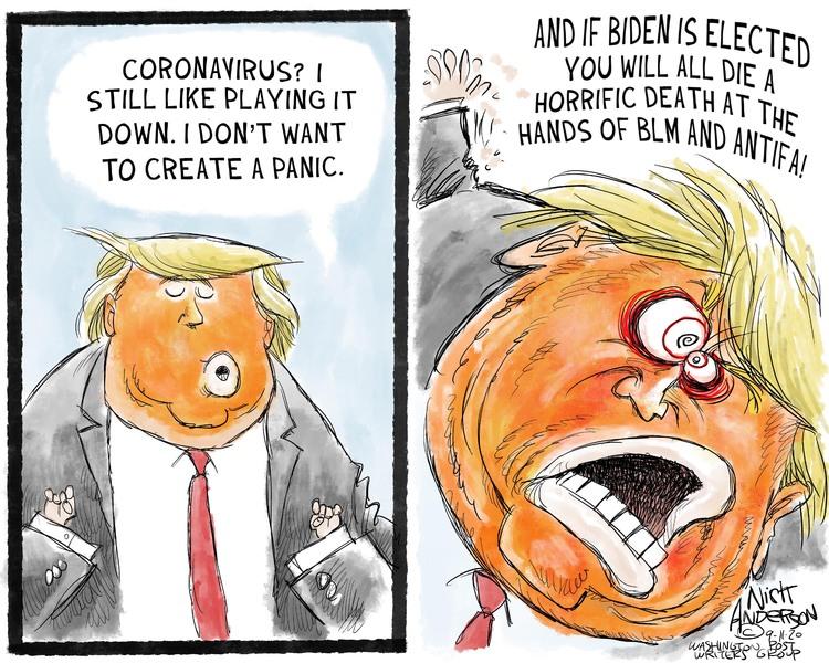 Nick Anderson Comic Strip for September 11, 2020
