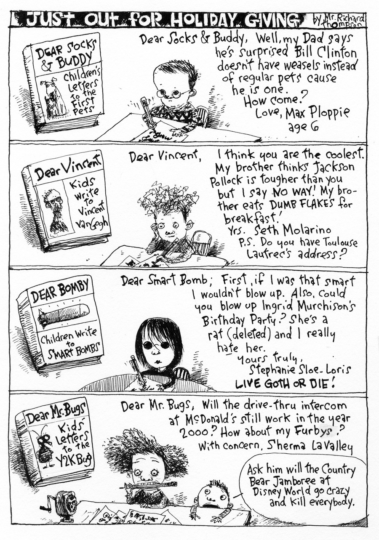 Richard's Poor Almanac Comic Strip for February 20, 2019