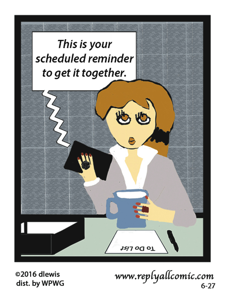 Reply All Lite Comic Strip for June 27, 2016