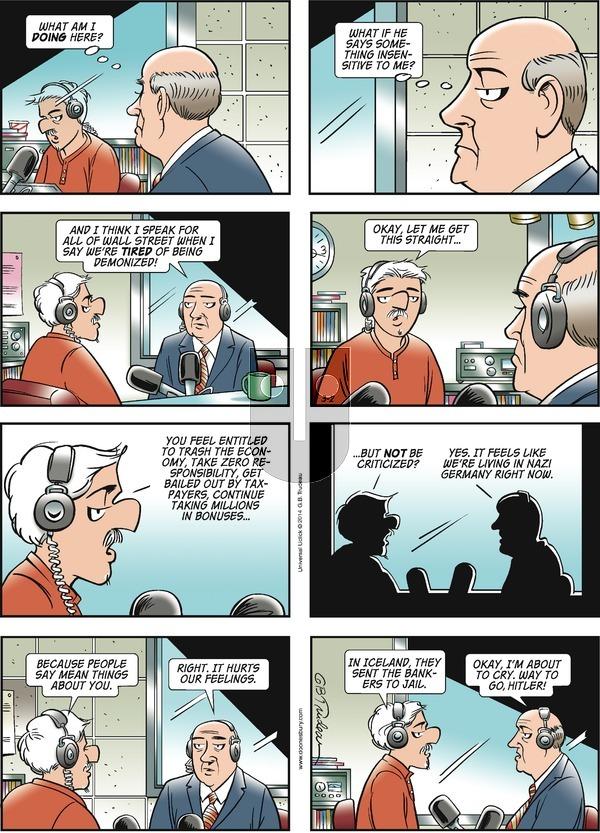 Doonesbury on Sunday March 2, 2014 Comic Strip