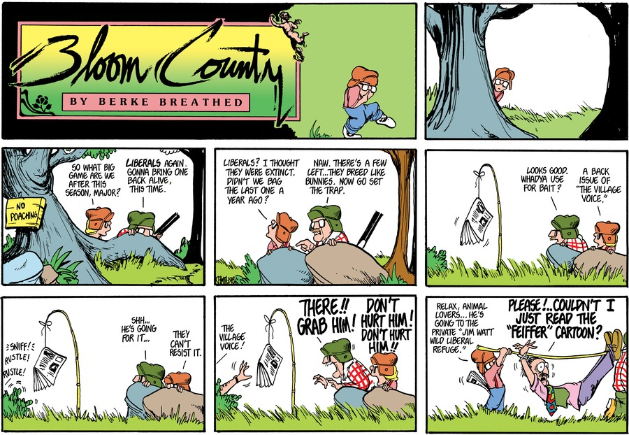 Bloom County by Berkeley Breathed for April 30, 2019