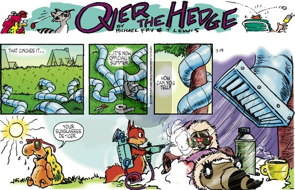 Over the Hedge on Sunday July 14, 2019 Comic Strip