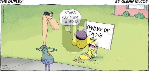 The Duplex on Sunday March 6, 2011 Comic Strip
