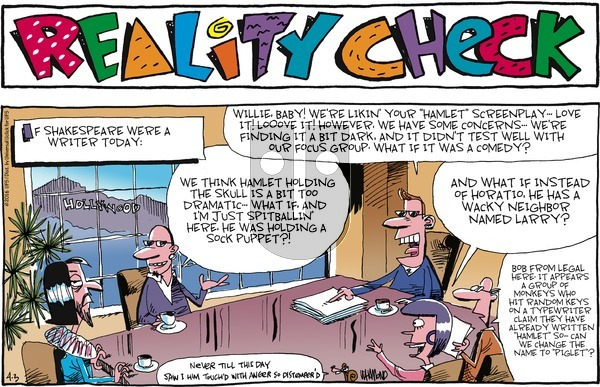 Reality Check on Sunday April 3, 2016 Comic Strip