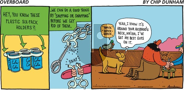Overboard on Sunday April 29, 2018 Comic Strip
