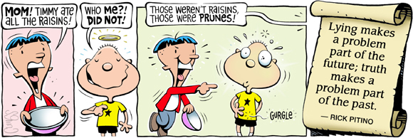 Brain Squirts Comic Strip for July 11, 2019