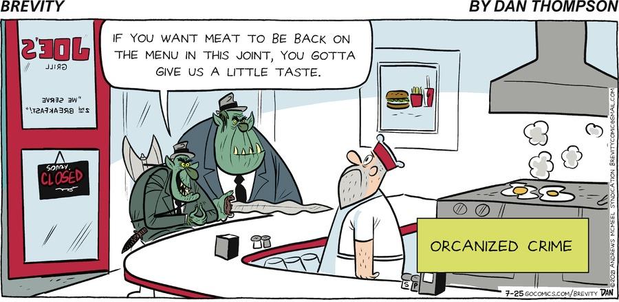 Brevity Comic Strip for July 25, 2021