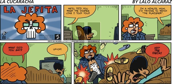 La Cucaracha - Sunday March 3, 2019 Comic Strip