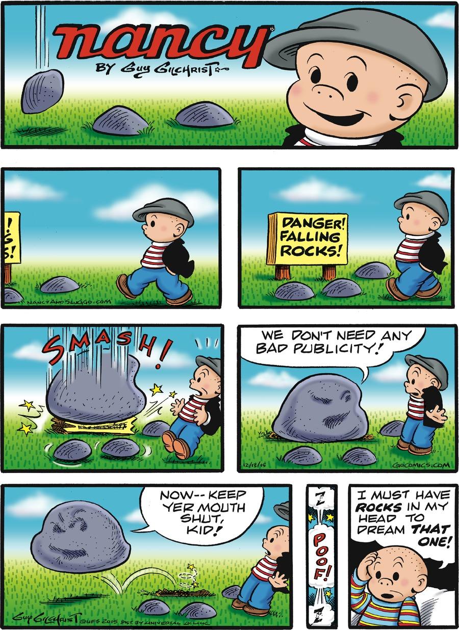 Nancy for Dec 13, 2015 Comic Strip