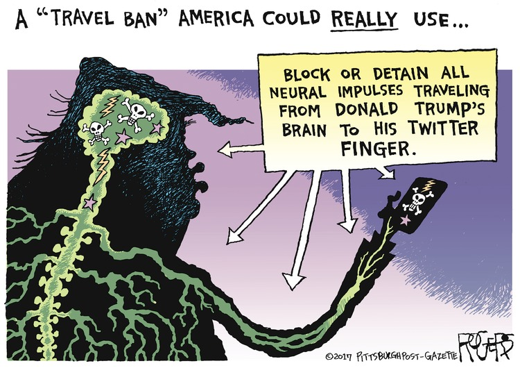 Rob Rogers Comic Strip for July 02, 2017