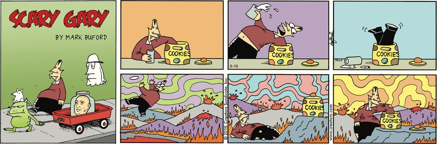 Scary Gary Comic Strip for June 19, 2016