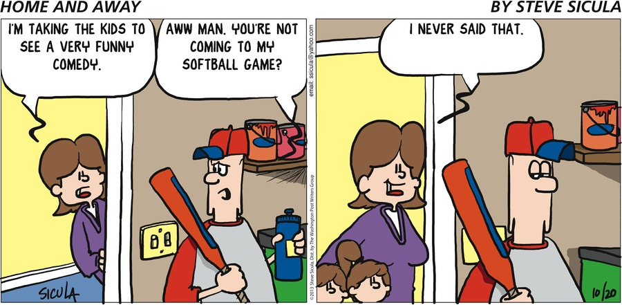 Home and Away Comic Strip for January 22, 2021