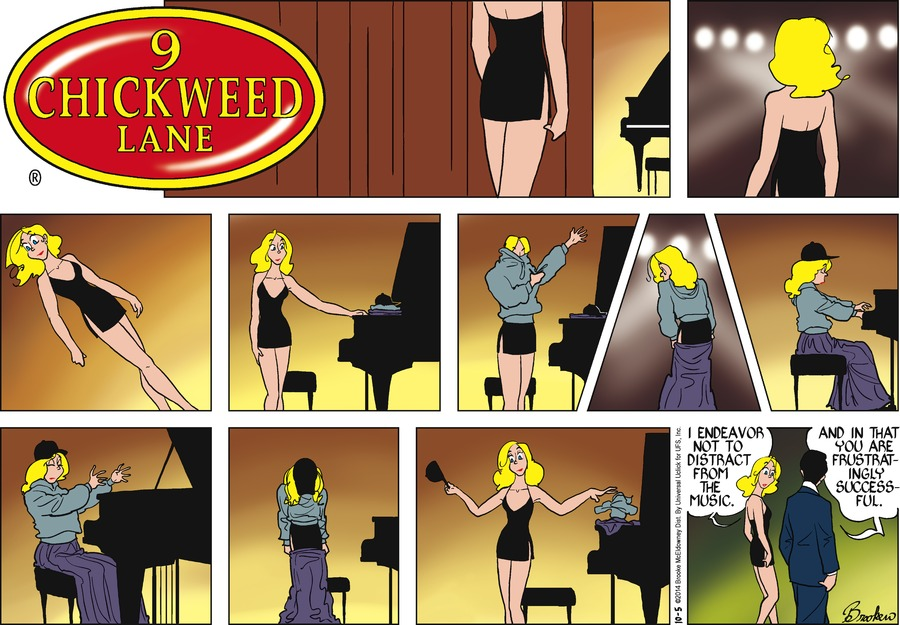 9 Chickweed Lane for Oct 5, 2014 Comic Strip