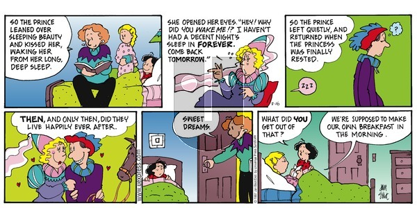 Stone Soup on Sunday February 16, 1997 Comic Strip