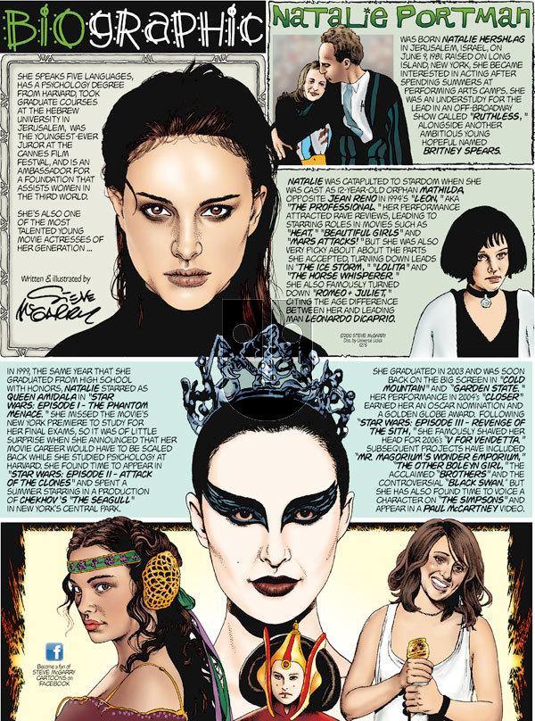 Biographic on Sunday December 5, 2010 Comic Strip
