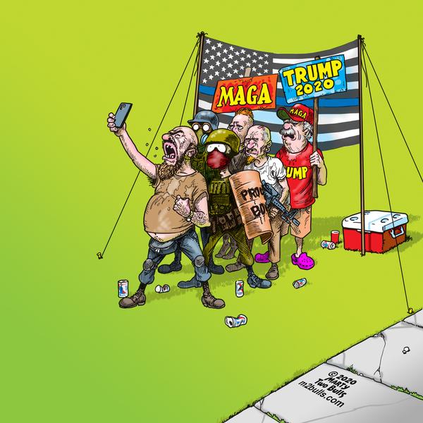 M2Bulls Comic Strip for October 01, 2020