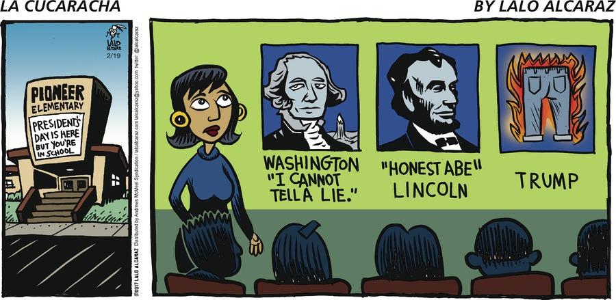 La Cucaracha Comic Strip for February 19, 2017