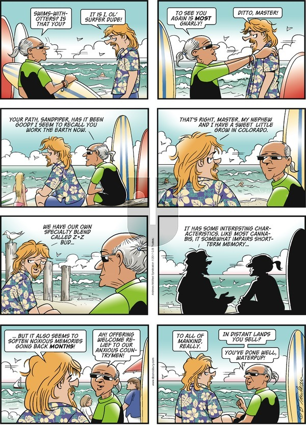 Doonesbury on Sunday June 4, 2017 Comic Strip