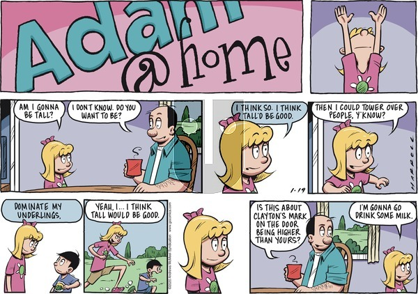 Adam@Home on Sunday January 19, 2020 Comic Strip