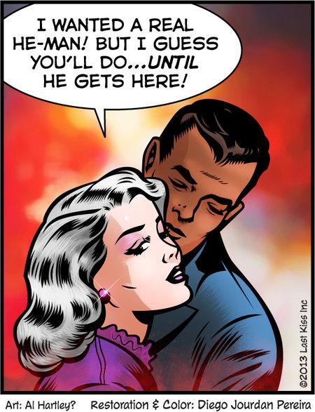 Last Kiss for Aug 26, 2013 Comic Strip