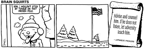 Brain Squirts Comic Strip for March 05, 2020