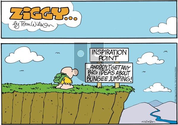 Ziggy on Sunday July 18, 2021 Comic Strip