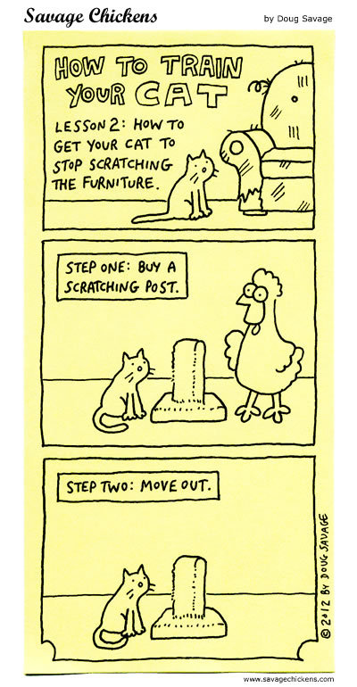 Savage Chickens for Nov 10, 2016 Comic Strip