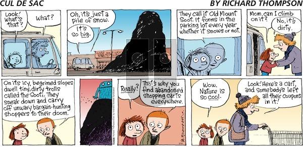 Cul de Sac on Sunday February 18, 2018 Comic Strip