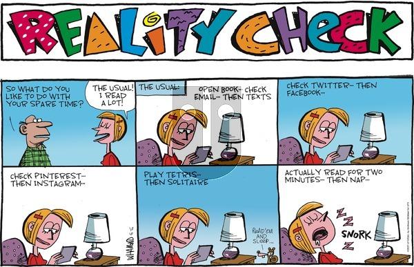 Reality Check on Sunday June 6, 2021 Comic Strip