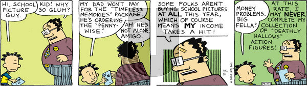 Big Nate on Thursday October 21, 2010 Comic Strip