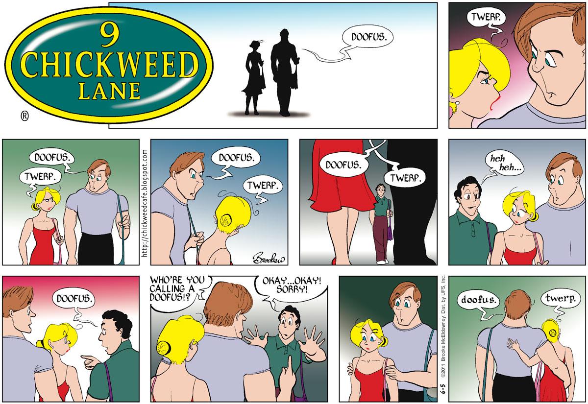 9 Chickweed Lane for Jun 5, 2011 Comic Strip