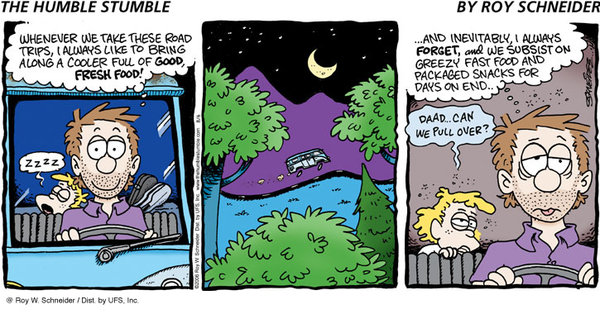 The Humble Stumble for Jan 6, 2013 Comic Strip