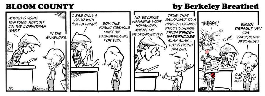 Bloom County 2019 Comic Strip for March 09, 2017