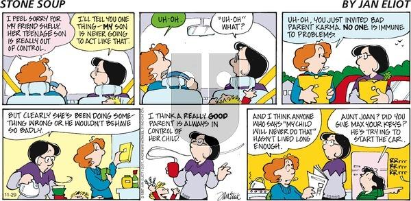 Stone Soup - Sunday November 29, 2020 Comic Strip