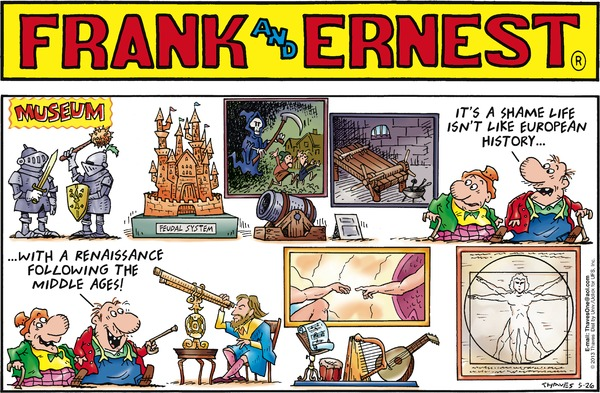 Collectible Print of frank and ernest