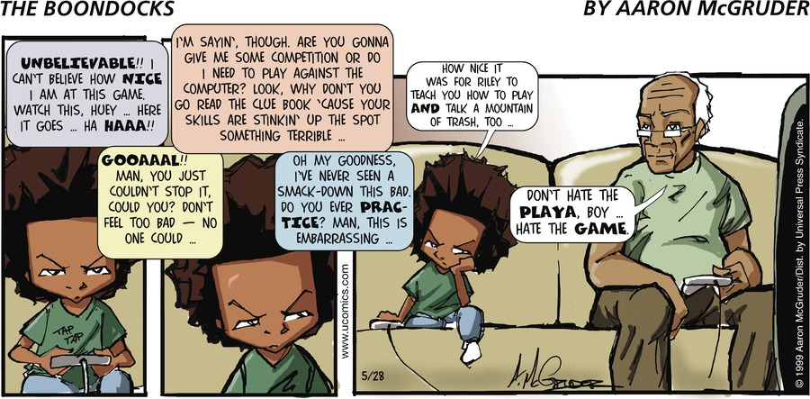 The Boondocks for May 28, 2006 Comic Strip