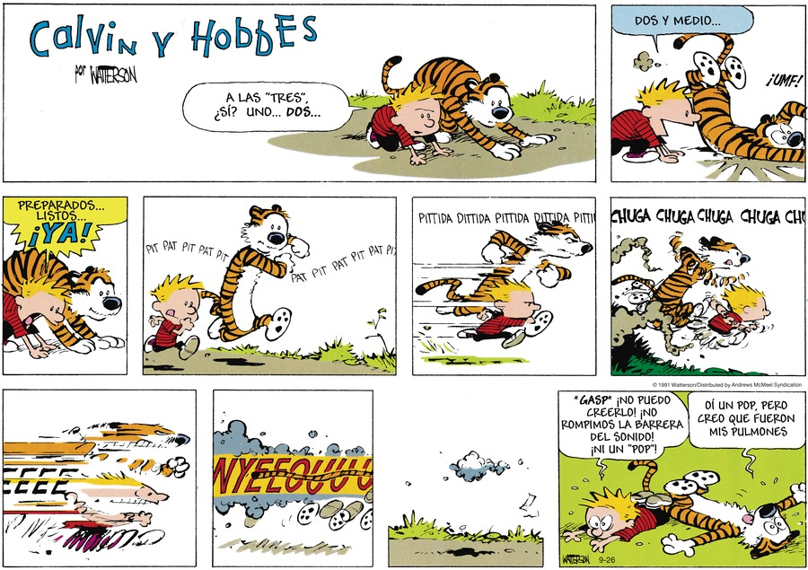 Calvin and Hobbes en Español Comic Strip for September 26, 2021