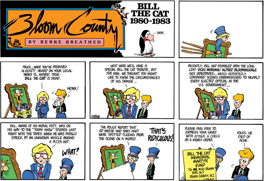 Bloom County Comic Strip for June 26, 2019