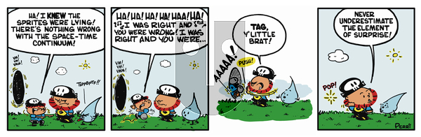 Pirate Mike on Friday February 8, 2019 Comic Strip