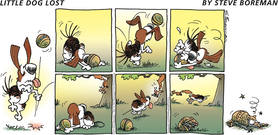 Little Dog Lost for Apr 27, 2014 Comic Strip