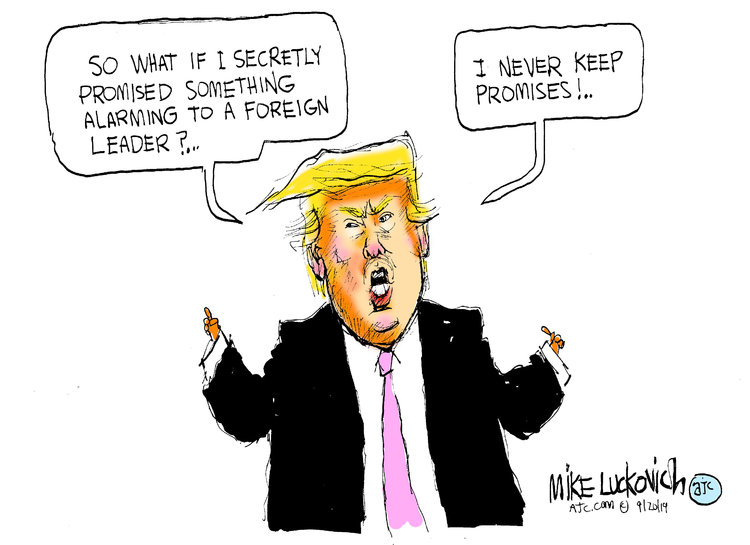 Mike Luckovich Comic Strip for September 20, 2019
