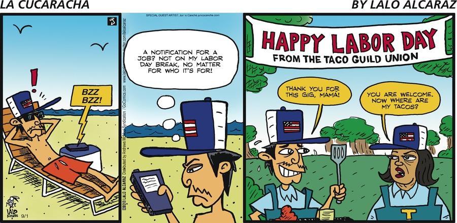 La Cucaracha Comic Strip for September 01, 2019