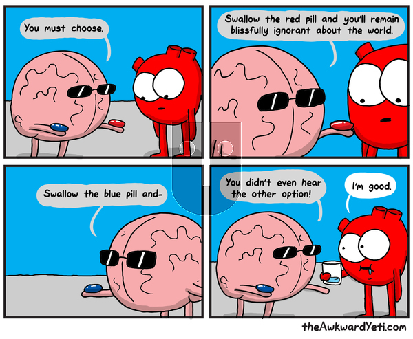 The Awkward Yeti on Monday November 4, 2019 Comic Strip