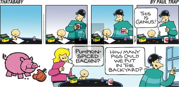 Thatababy on Sunday October 14, 2018 Comic Strip