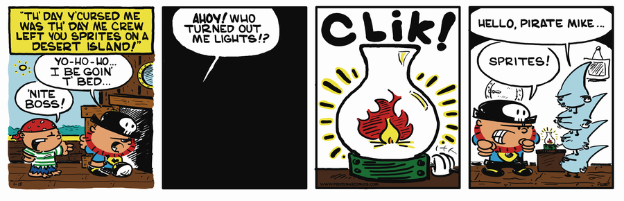 Pirate Mike Comic Strip for November 09, 2018
