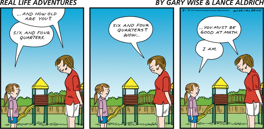 Real Life Adventures Comic Strip for May 07, 2017