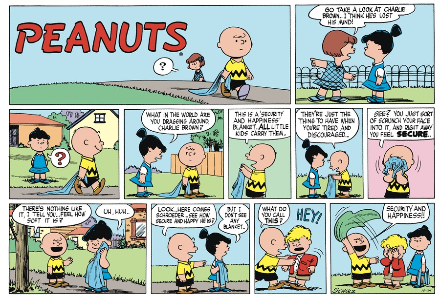 Peanuts Begins Comic Strip for November 25, 2018