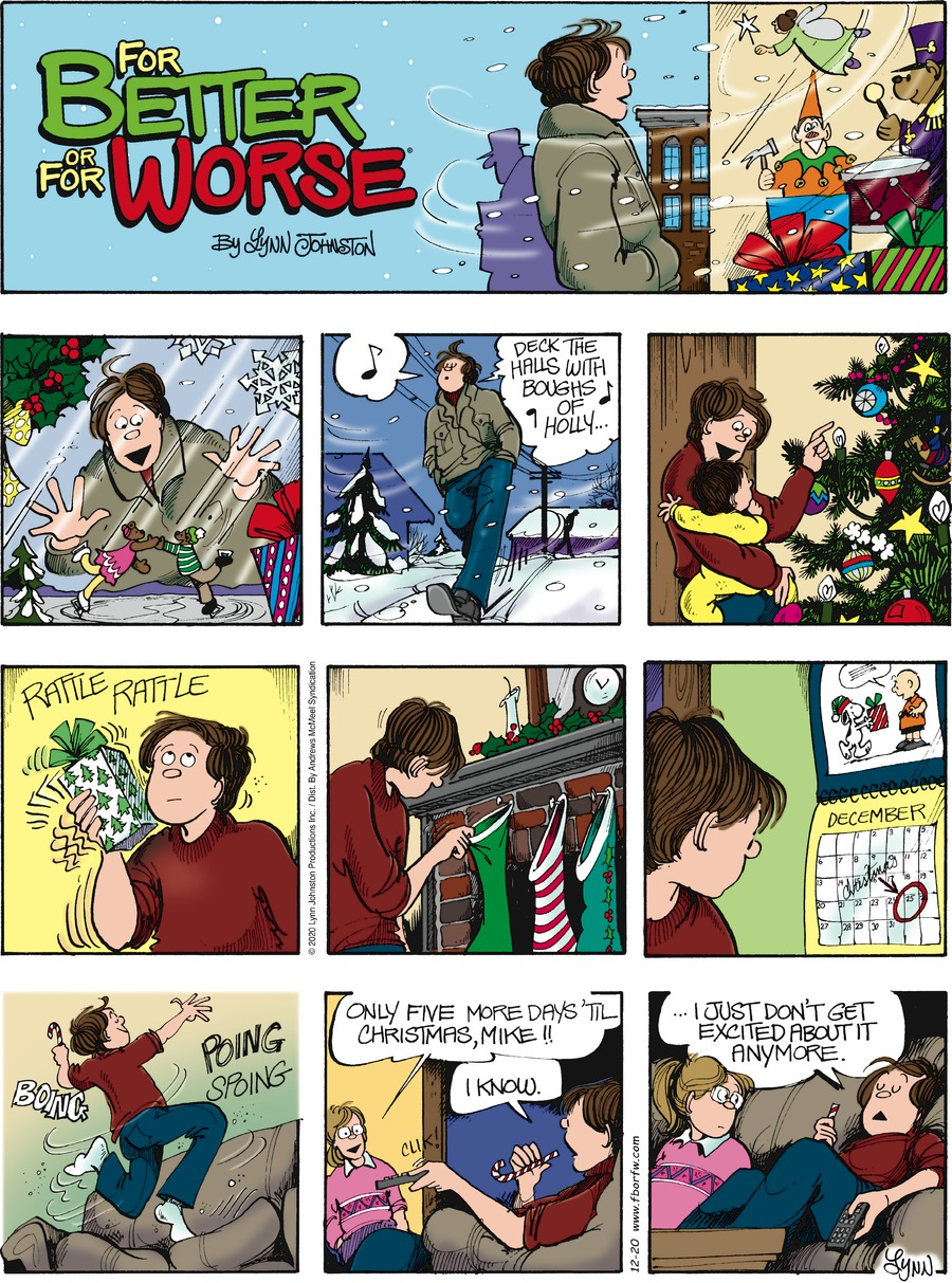 For Better or For Worse Comic Strip for December 20, 2020
