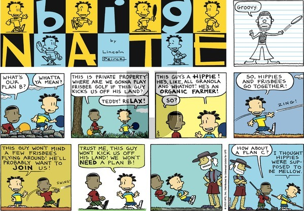 Big Nate on Sunday May 17, 2015 Comic Strip